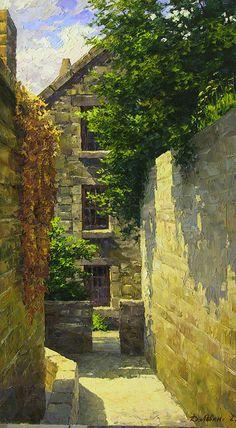 Dmitry Levin - Russian artist \\ In the castle of San-Mishele.France