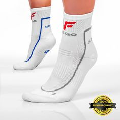 Athletic Crew Socks - Mens, Womens - No Falling Socks, No Blisters, No Stinky Feet - check this out!