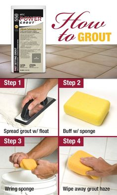 A step-by-step guide (with special tips and tricks) for grouting tile. Enjoy this free resource guide, complete a video walkthrough and detailed instructions for your next DIY tile installation project.