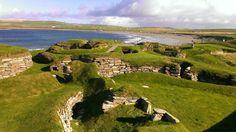 Skara Brae à Kirkwall, Orkney Islands