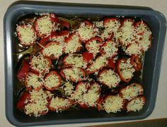 """Μια γεύση από Αμοργιανό """"Καλόγερο"""", πριν μπει στον φούρνο (από την Τάνια)."""