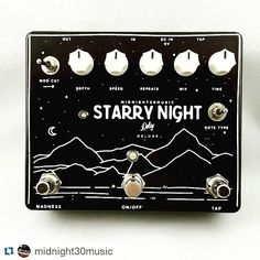 Repost @midnight30music:  A Starry Night Delay Deluxe is heading out to one of our dealers @coastsonic soon along with some other pedals. #geartalk #guitar #guitars #pedalboard #pedalboards #knowyourtone #fender #midnight30music #nashville #guitar #guitars #m30 #midnight30music #midnight30 #delay #starrynightdelay #starrynightdelaydeluxe