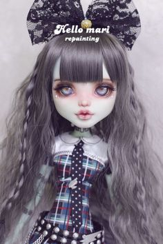 Monster High Doll Clothes, Custom Monster High Dolls, Monster High Repaint, Monster Dolls, Custom Dolls, Monster Girl, Ooak Dolls, Blythe Dolls, Barbie Dolls