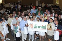 Daniel, a great charity for kids. This was during judging for the BBQ competition for the Glynn Cook Memorial Scholarship