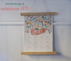 Imprimible: calendario 2015 | milowcostblog♥