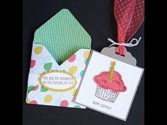 Stampin' Up! Sprinkles of Life Gift Card Holder - YouTube