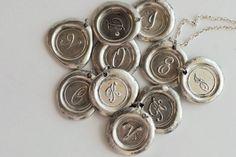 Waxed seal pendant