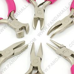 Jewelry Pliers Cutters Tools Jewelry Making Tools, Diy Jewelry, Handmade Jewelry, Unique Jewelry, Jewellery, Bent Nose, Platinum Price, Chain Nose Pliers, Silver Prices