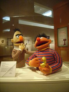 My two favorite sesame street characters.