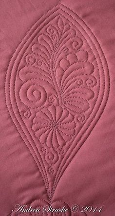 Quilting Stitch Patterns, Machine Quilting Patterns, Quilt Stitching, Longarm Quilting, Free Motion Quilting, Quilt Patterns, Quilting Ideas, Whole Cloth Quilts, Flower Quilts
