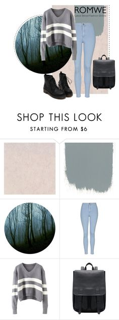 """""""Gray"""" by alinka-titova ❤ liked on Polyvore featuring Topshop, women's clothing, women, female, woman, misses and juniors"""
