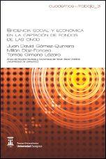 Resultado de imagen de Eficiencia social y económica en la captación de fondos de las ONGD / Juan David Gómez-Quintero, Millán Díaz-Foncea, Tomás Gimeno Lázaro