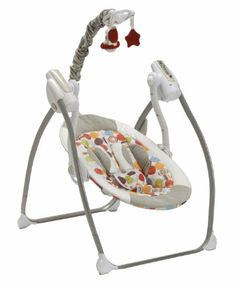 This Swing Is Awesome It Takes Batteries And Plugs Into