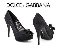 dolce   gabbana zapatos de mujer - Buscar con Google Encaje fd99d543f752
