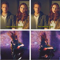 I won't let them take him. Doctor Who - Rory and Amy Pond