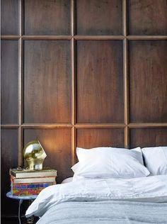 wood paneling effect