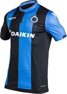 ef740c432 Club Brugge - Home Shirt Macron - Volwassenen - Maat XXL