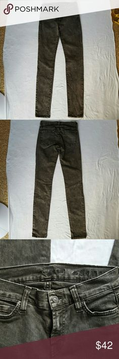 7 for all mankind jeans 7 for all mankind jeans in greenish grey color size 23. Skinny fit. 7 For All Mankind Jeans Skinny