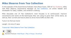 Mike Stearns from Tea Collection