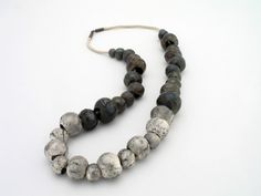 Washed Stone Necklace  by Patrycja Zwierzynska