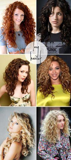 cabelos cacheados longos