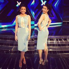 Dannii Minogue in Paolo Sebastian on The X Factor Australia