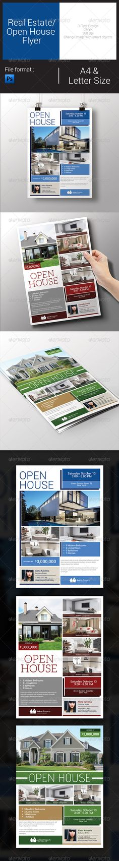 Real Estate / Open House Flyer