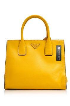c4f9b1cf849 -Prada- Vitello Shopping Tote #Prada #Handbags Miuccia Prada, Prada Handbags ,