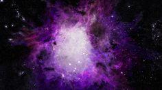 Purple Galaxy Picture
