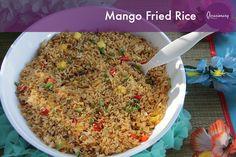 Mango Fried Rice #occasionary #luau #summer #party #tiki