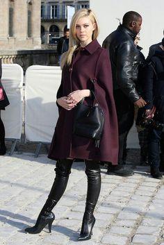 Nicola Peltz Photos - Nicola Peltz attend Louis Vuitton show as part of the Paris Fashion Week Womenswear Fall/Winter on March 2014 in Paris, France. - Arrivals at the Louis Vuitton Show Trench Coats, Elie Saab, Nicola Peltz, Outfit Invierno, Paris Shows, Celebs, Celebrities, Thigh High Boots, Knee Boots