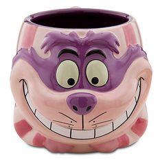 Buy Disney Anniversary Sculptured Cheshire Cat Mug Disney Coffee Mugs, Cute Coffee Mugs, Cool Mugs, Coffee Cups, Cheshire Cat Disney, Disney Cups, Disney Kitchen, Teapots And Cups, Teacups