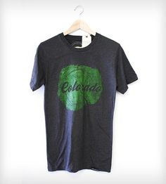 Colorado Tree Stump T-Shirt by Alkaline Ink & Thread on Scoutmob Shoppe