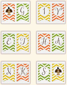 A round up 30 free Thanksgiving printables. The easiest, cheapest seasonal decorations - free printables including signs, banners, tags, and more. Thanksgiving Stories, Free Thanksgiving Printables, Thanksgiving Banner, Thanksgiving Preschool, Fall Banner, Thanksgiving Decorations, Fall Decorations, Thanksgiving Holiday, Free Printable Banner