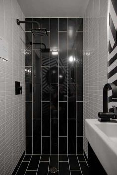 Black And Whtie Stripe Tile Google Search