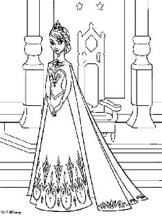 elsa frozen coloring page. Who doesn't know the Frozen animated film? A 2013 film which is the production of Walt Disney Animation Studios is quite well known in several coun. Princess Coloring Sheets, Ballerina Coloring Pages, Frozen Coloring Pages, Disney Princess Coloring Pages, Disney Princess Colors, Pokemon Coloring Pages, Cartoon Coloring Pages, Coloring Pages To Print, Printable Coloring Pages