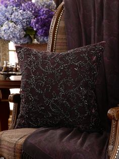 Honora Beaded Pillow ~ Ralph Lauren