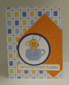 Spring Coffee Lovers Bloghop. Art Impressions, Fiskars and Hero Arts stamps.