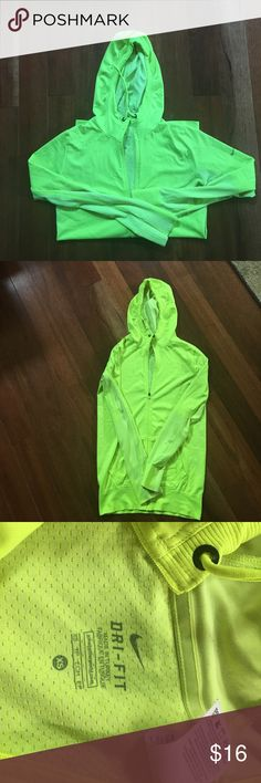 Nike dri-fit jacket Nike running jacket in great condition *Discounts with bundles and offers considered* Nike Tops Sweatshirts & Hoodies