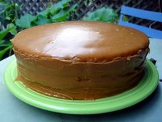 Old South *Southern Style Caramel Cake in Old Time Recipes*Farm,Amish Forum
