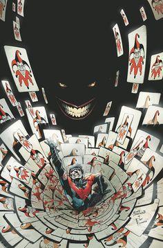 Joker Vs Nightwing by Eddy Barrows