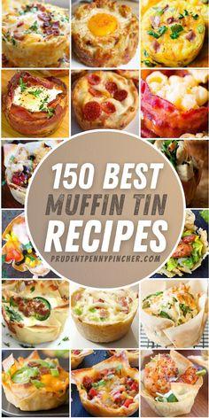 Easy Dinner Recipes, Appetizer Recipes, Breakfast Recipes, Appetizers, Brunch Recipes, Ceviche, Muffin Pan Recipes, Cooking Recipes, Healthy Recipes