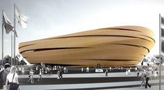 London Olympic Velopark by thomas Heatherwick Stadium Architecture, Parametric Architecture, Architecture Building Design, Organic Architecture, Facade Design, Futuristic Architecture, Contemporary Architecture, Amazing Architecture, Barcelona Architecture