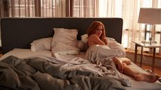 """Actors Gabriel Macht and Sarah Rafferty have known each other for more than 20 years, which is a big part of the reason their characters have such amazing chemistry. But because of their """"brother/sister"""" relationship, romantic moments between Donna and Harvey can be a little awkward. When shooting the episode's opening dream sequence, Macht insisted on keeping Rafferty – who was lying naked in his bed"""