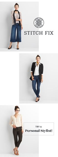 Check out Stitch Fix, an online personal styling service I discovered. My Stylist considers my size & taste, then sends me handpicked apparel to try at home. Shipping is free, I buy what I like & return what I don't in a prepaid envelope. Give it a try!
