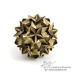 Kusudama Me! - Modular origami! Insignia