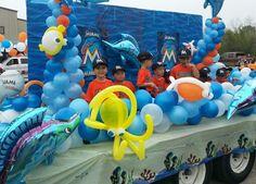 Baseball parade float!!