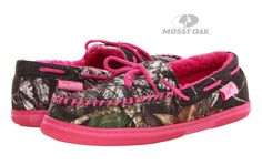M&F Western Mossy Oak Moccasin Slippers