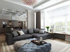 Дизайн квартиры. Каменноостровский пр. 62 – 100 кв.м
