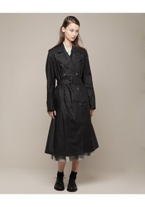 Beautiful soft black trench